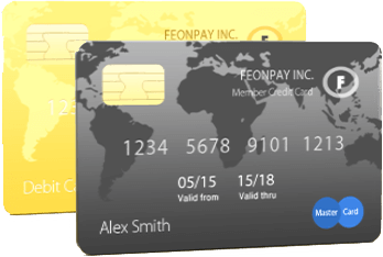 Дебетовая и кредитная карты FeonPay