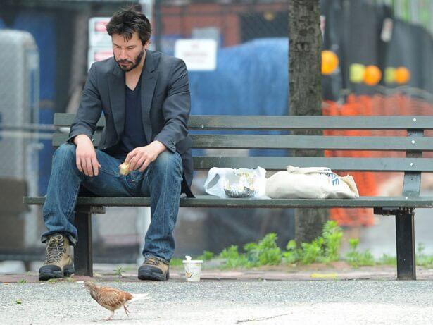Киану Ривз после съемок нерентабельного фильма