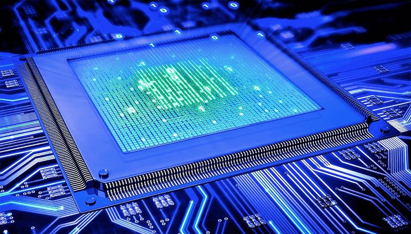 Одна из самых перспективных разработок - квантовый компьютер
