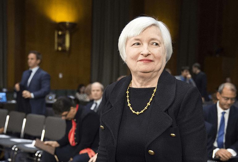 Озорная бабуся Джанет ведает всей денежно-кредитной политикой США
