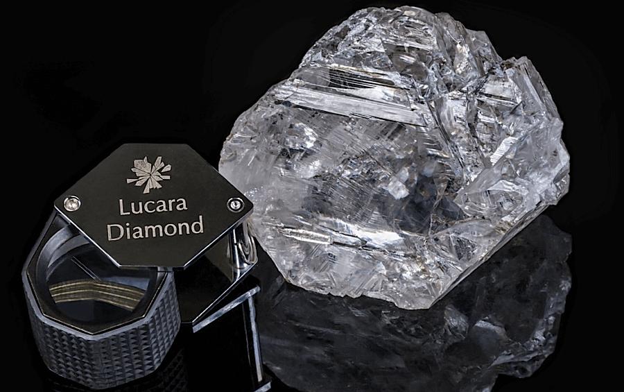 Крупнейший в мире алмаз - Lesedi-La-Rona