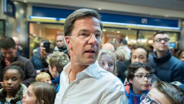 Победитель выборов и действующий премьер Голландии - Марк Рютте