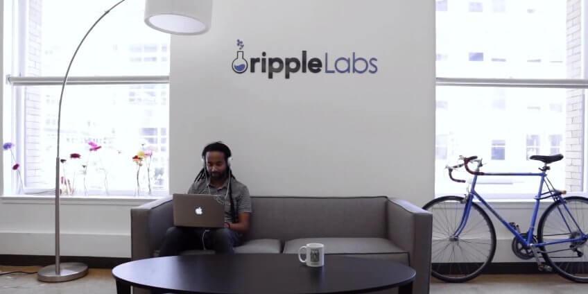 Приёмная в одном из американских офисов Ripple