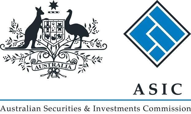 Австралийская лицензия ASIC