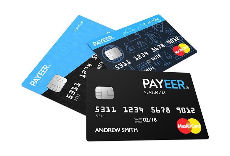 Карты Payeer Mastercard Platinum
