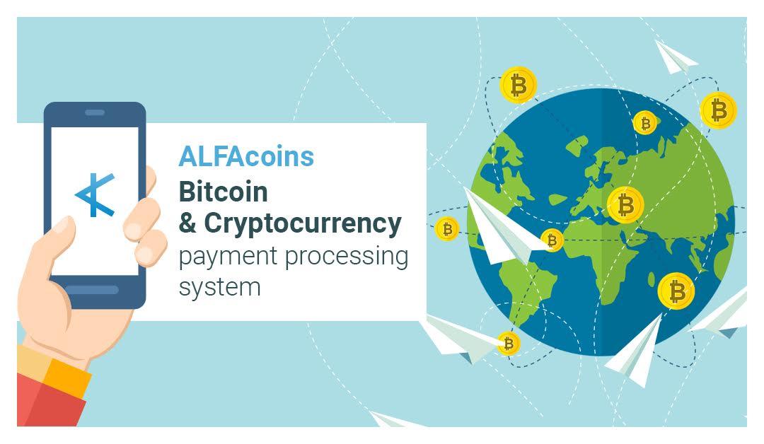 ALFAcoins: как запустить приём криптовалют