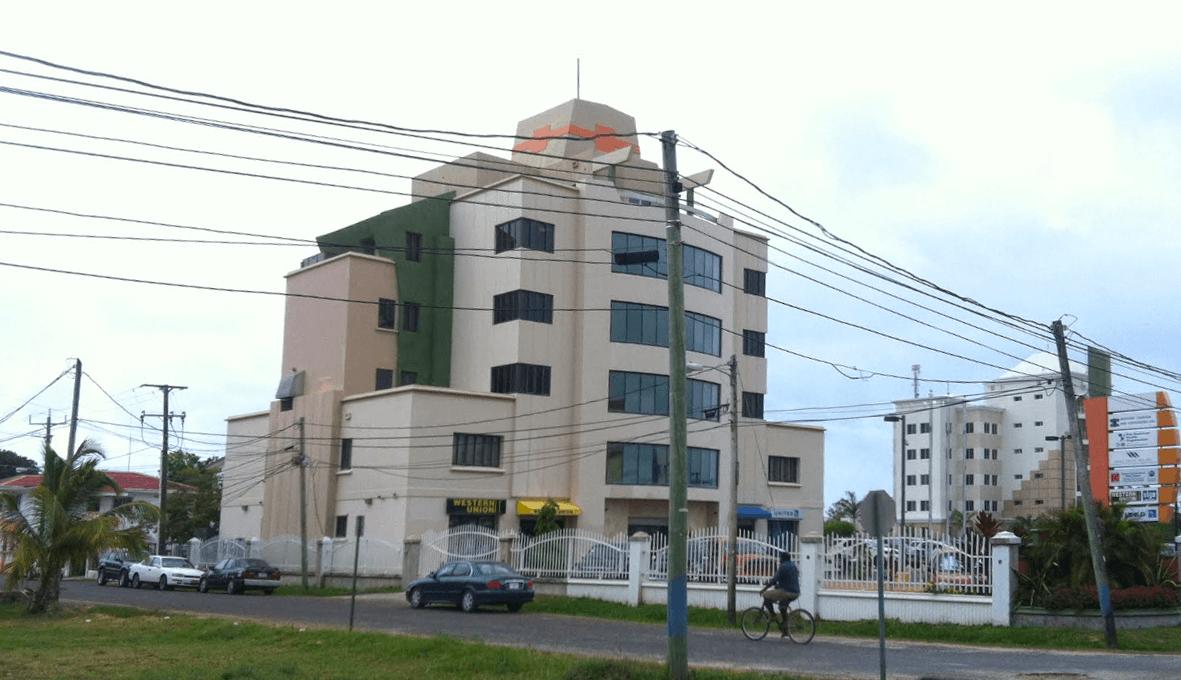 Офис AdvCash, формально, расположен в этом здании