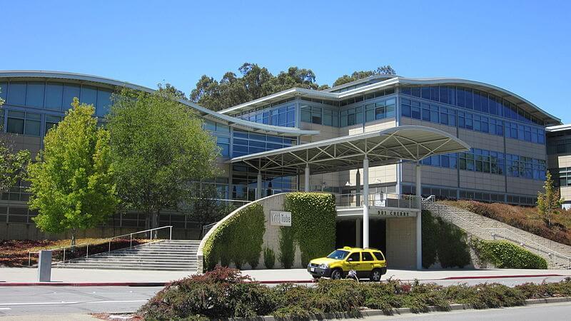 Центральный офис YouTube расположен в Калифорнии