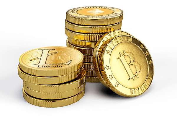 Три самые ходовые криптовалюты - это биткоин, лайткоин и этереум