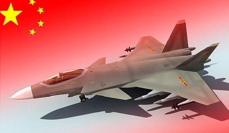 Китайский истребитель 5-го поколения