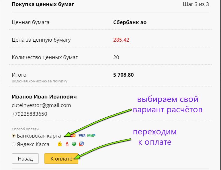 Как купить акции Сбербанка