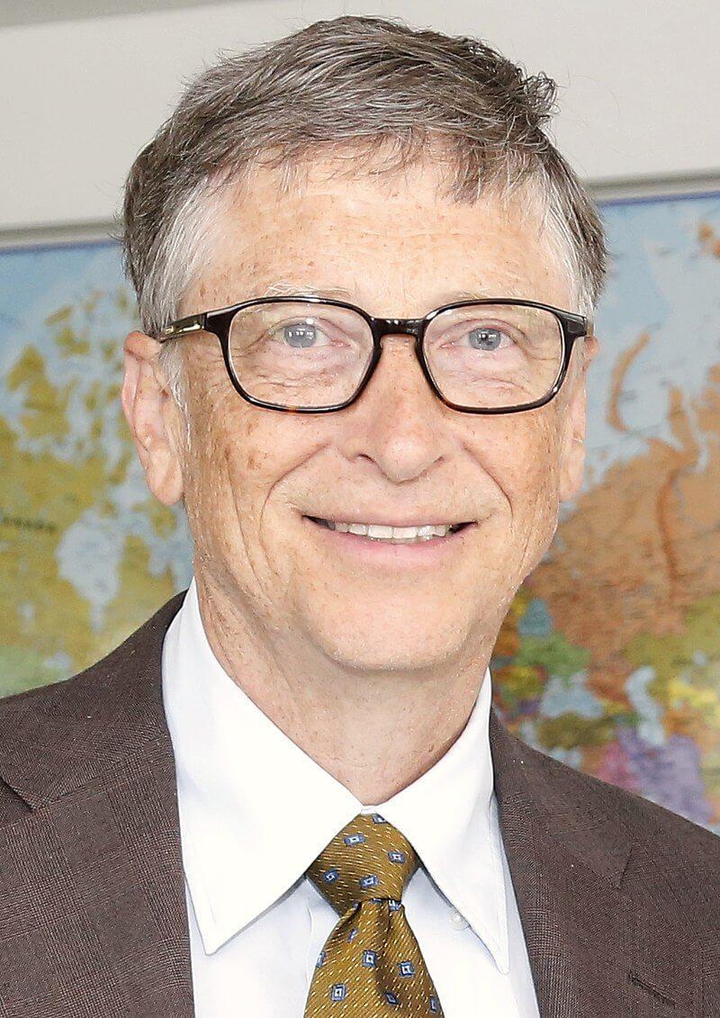 Немного постаревший Билл Гейтс