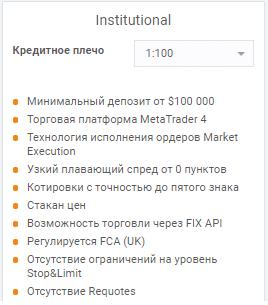 Торговые счета AMarkets