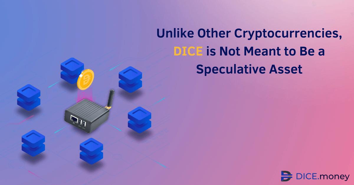 DICE — не спекулятивная криптовалюта