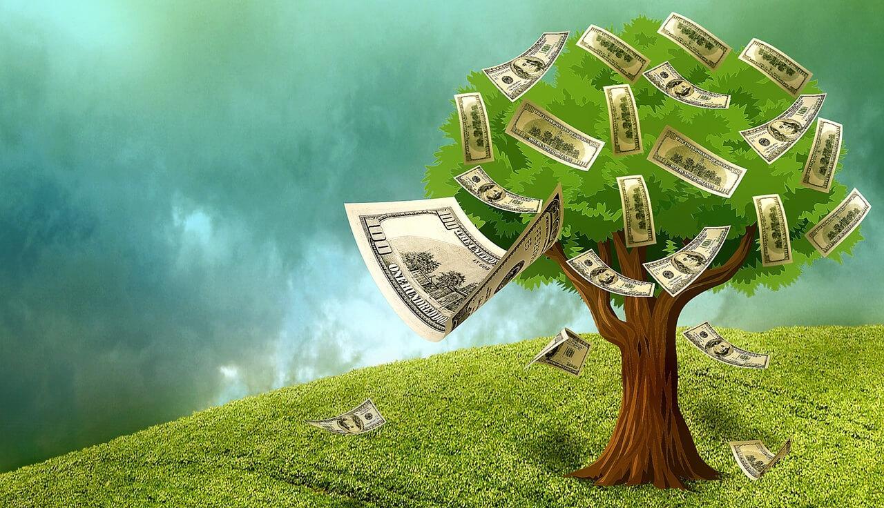 В хайпах можно зарабатывать более 100% в год. С налоговой тоже можно поделиться.